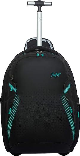 Skybags 50 cms Atlantic Black Backpack Trolley02