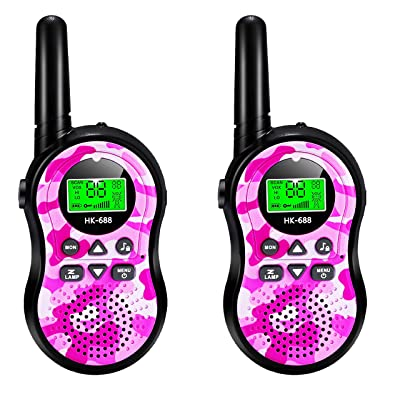 SeaMeng walkie talkies for Kids,22 Channel 2 Way Radio 3 Mile Long Range,Best Gifts for Boys Girls Age 3-12,Outdoor Adventures Camping Hiking: Toys & Games