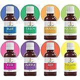 Aromakrafts® Soap Making Colours - Set of 8 (10 ml each)