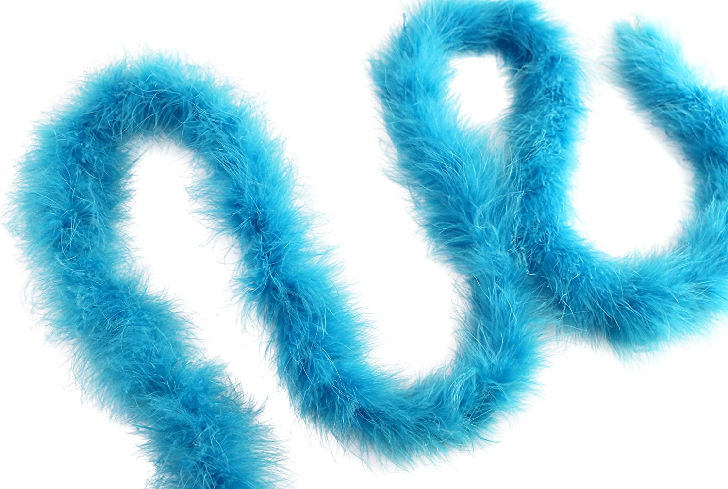 Dancing Wedding Crafting Party Dress Up Halloween Costume Decoration 14 Gram 2 Yard-Long Marabou Feather Boa Baby Pink