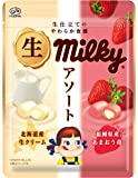 不二家 生ミルキーアソート(ミルク&苺)袋 64g ×6個