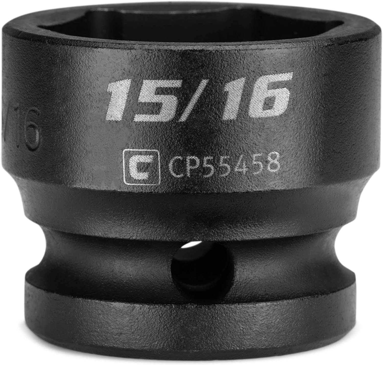 SAE Capri Tools 1//2 in Stubby Impact Socket 6-Point Drive 1//2 in