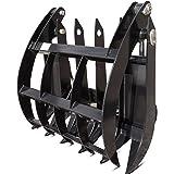 """34"""" Grapple Rake Attachment Mini Skid Steer Toro Dingo Ditch Witch Boxer Kanga"""