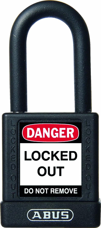 Abus 74//40 Negro Candado no conductor para seguridad 40mm negro