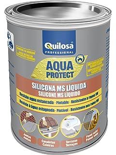 Quilosa T003095 Silicona Ms Liquida Negro 1 kg