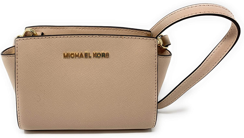 MICHAEL Michael Kors Selma Mini Saffiano Leather Crossbody Bag ...