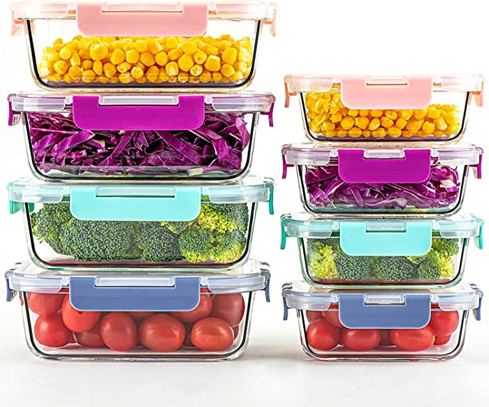 Top 9 Colorful Food Containers