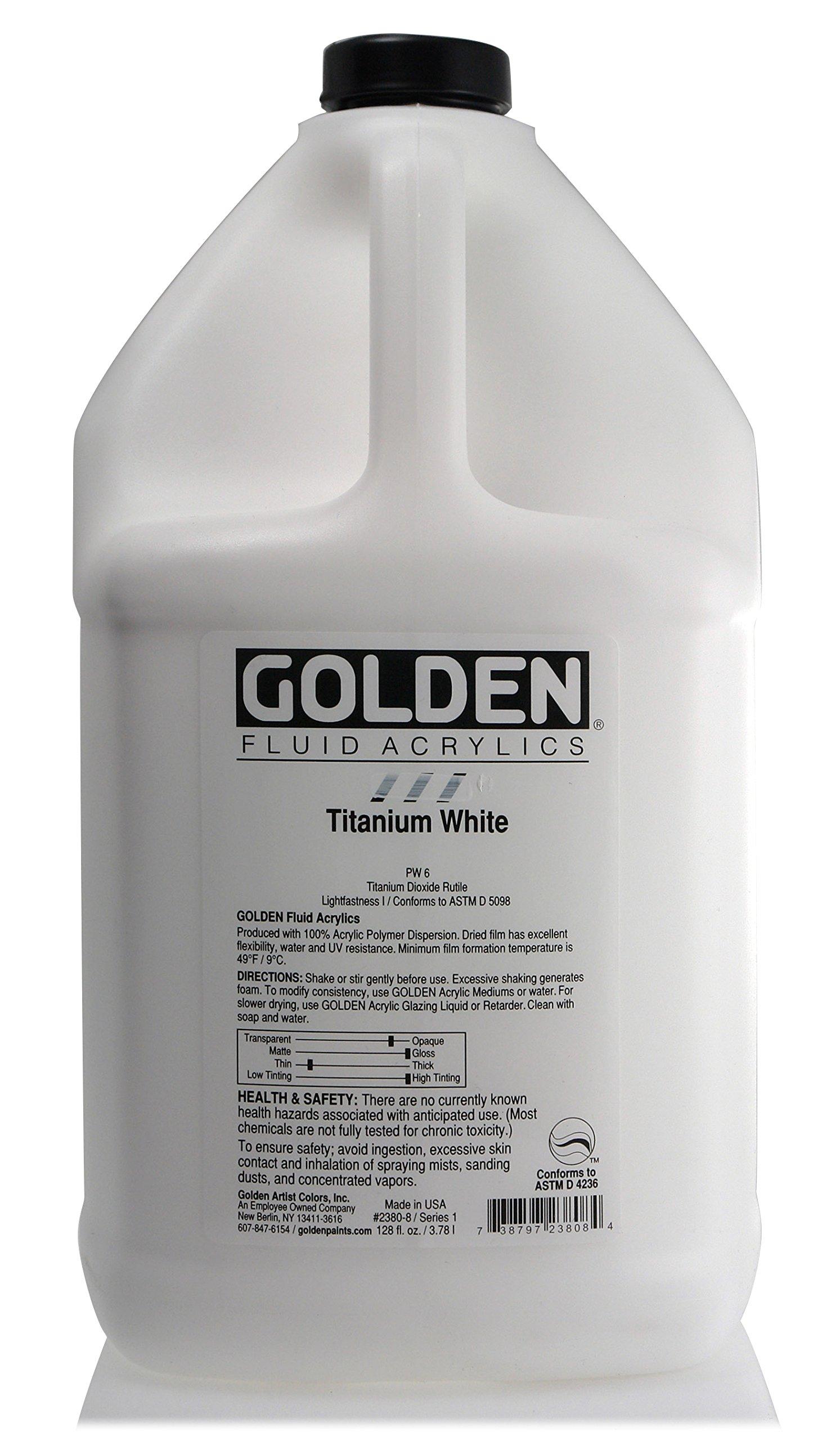 1 Gallon Fluid Acrylic Color Paints
