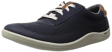 Mens Torset Vibe Low-Top Sneakers, Grey, 10.5 UK Clarks