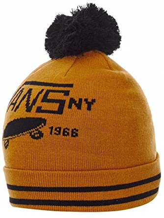 967b25a2 Vans Cathay Spice Full Patch 11 Pom Beanie: Amazon.co.uk: Clothing