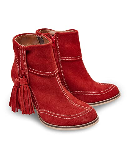ed941fb60 Joe Browns Women's Just Divine Suede Boots Ankle (Red), 8 UK 42 EU ...