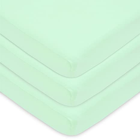 American Baby Company 100/% Cotton Value Jersey Knit Crib Sheet Bedding Sheet