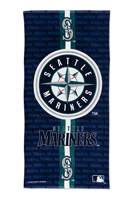 Amazon Seattle Mariners Fiber Reactive Beach Towel Sports