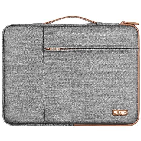 Plemo Funda para Portátiles 13 Pulgadas Protectora para Ordenador Portátil, MacBook / Notebook, Impermeable