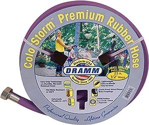 Dramm 17036 ColorStorm Premium Rubber Garden Hose, 1/2