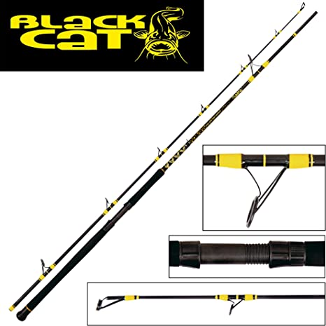 Black Cat Uni Passion Pro DX Spin – Caña de Pescar Siluro ...
