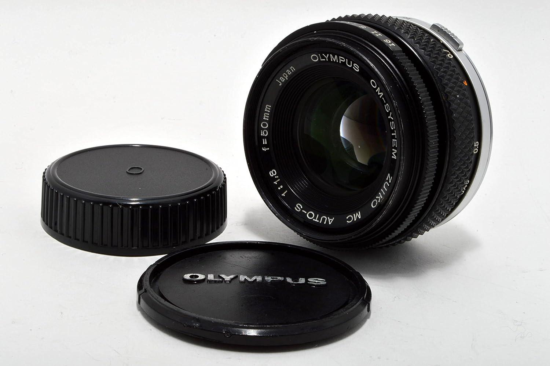 Olympus OM-System Zuiko MC Auto-S 50mm f/1.8 Manufal Focus Camera Lens