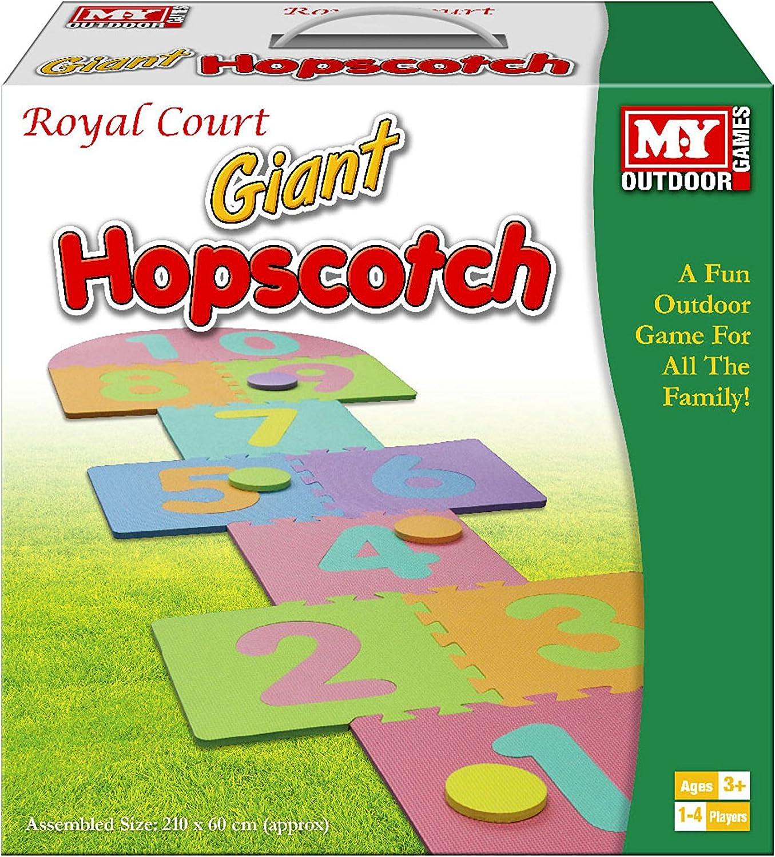 Kids Hopscotch Giant Mat Lawn Garden Games Childrens Foam Tiles Indoor Outdoor