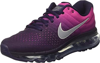 Nike Air MAX 2017 (GS), Zapatillas de Trail Running para Niñas, Morado (Purple Dynasty/Summit White-Fire Pink), 36.5 EU: Amazon.es: Zapatos y complementos