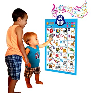 best Just Smarty Electronic Interactive Alphabet Wall Chart reviews