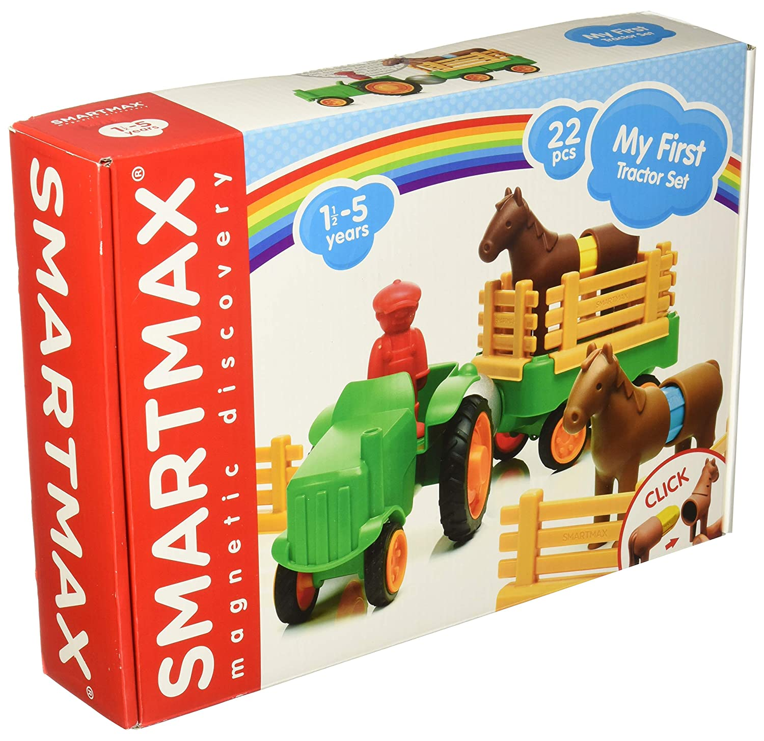 SMART Toys and Games GmbH SMX 221 SmartMax My First Farm Animals 16 Teil bunt