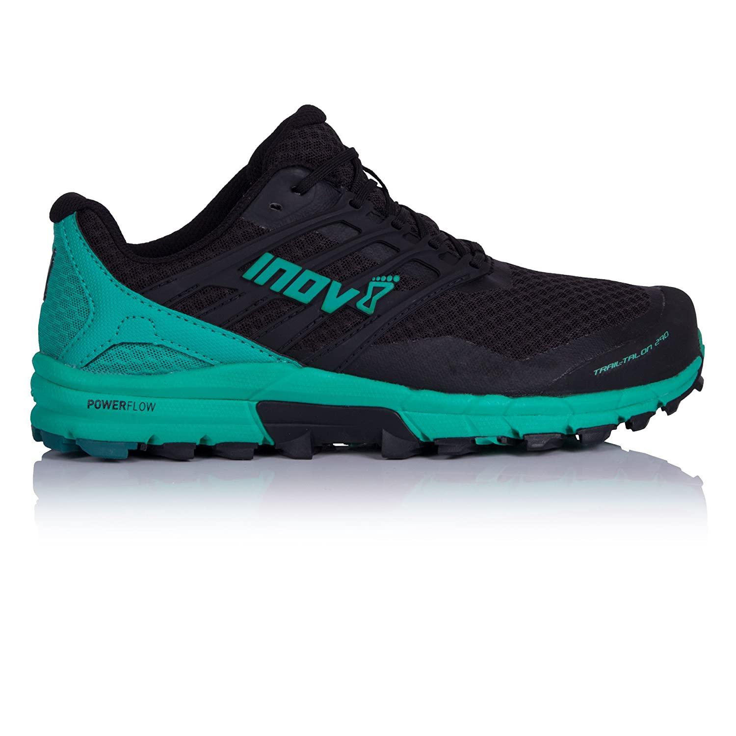 Inov-8 Womens Trailtalon 290 B074H9T6SF 5 M UK|Black/Teal