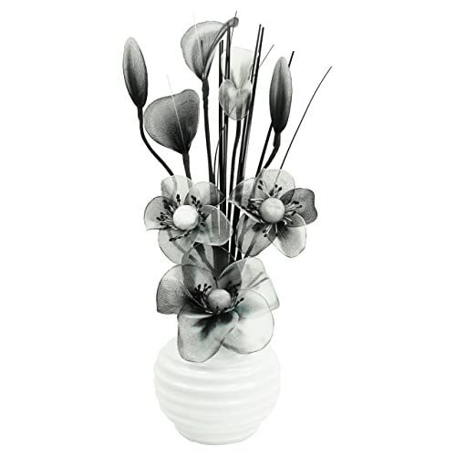 Table Flowers With Vases For Bedroom Amazon