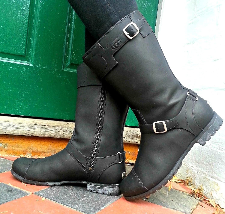 447fcb8d909 Womens Black Ugg Gershwin Boots Black - 3.5 UK 3.5 US 5 EUR 36