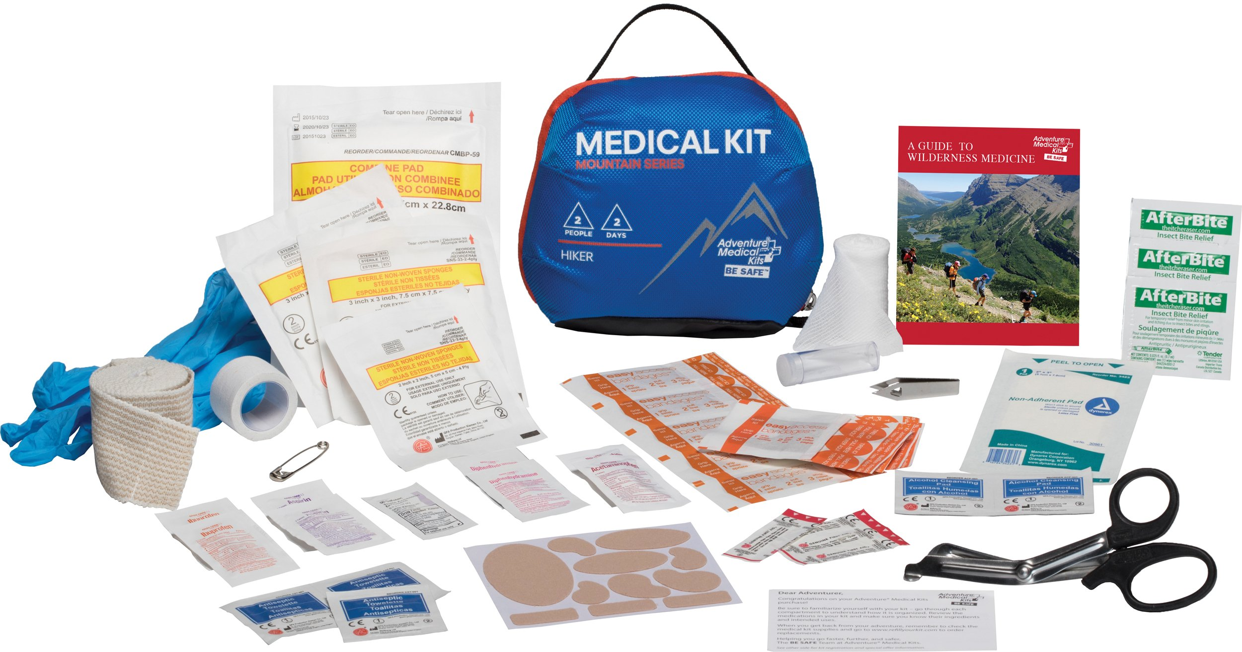 Adventure Medical Kits Mountain Series Hiker First Aid Kit