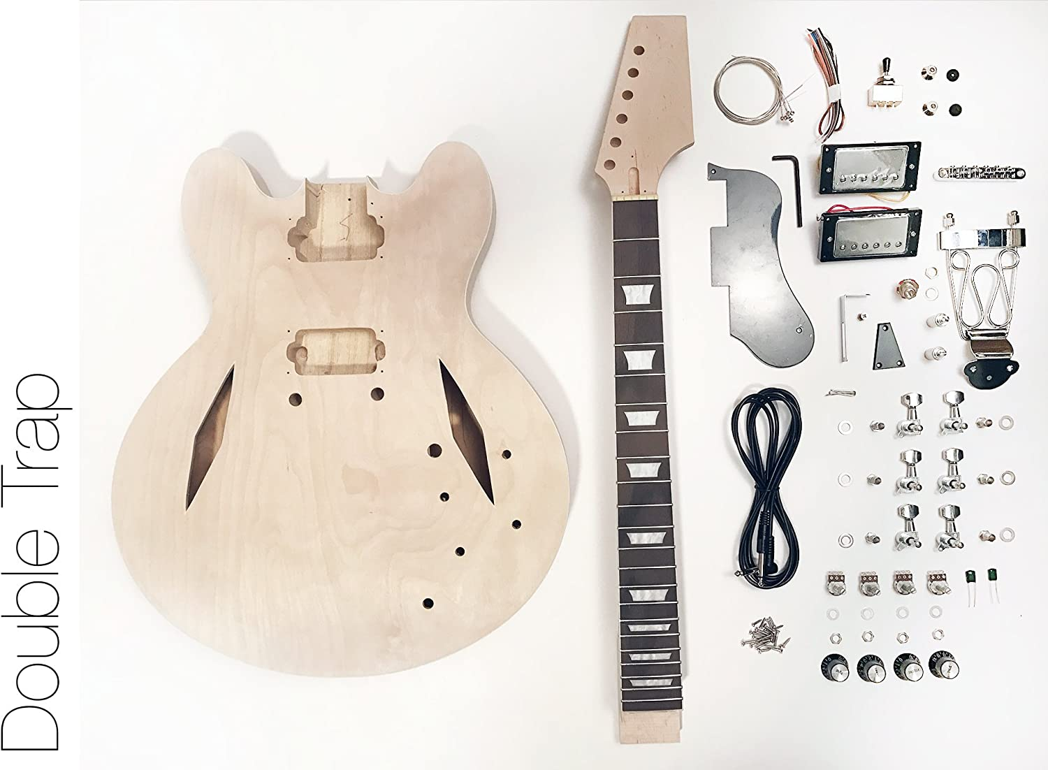DIY Kit de guitarra eléctrica? Semi hueca diamond construir su ...