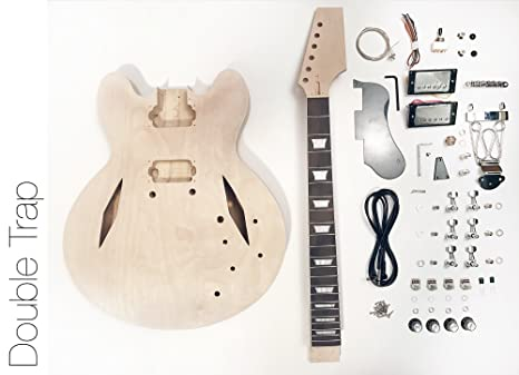 DIY Kit de guitarra eléctrica? Semi hueca diamond construir su propio Kit de guitarra