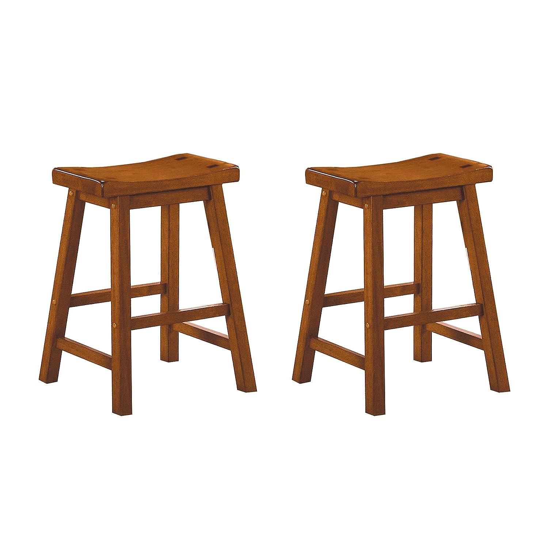 Homelegance Saddleback 24-Inch Barstool