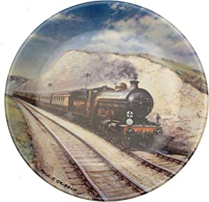 Bradford Exchange Davenport Train Plate Southern Belle by Paul Gribble Great Steam Trains Collection - CP874