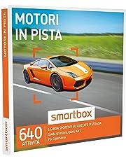 SMARTBOX - Cofanetto Regalo -Motori in Pista 1 Guida Sportiva su Circuito e Strada per 1 Persona