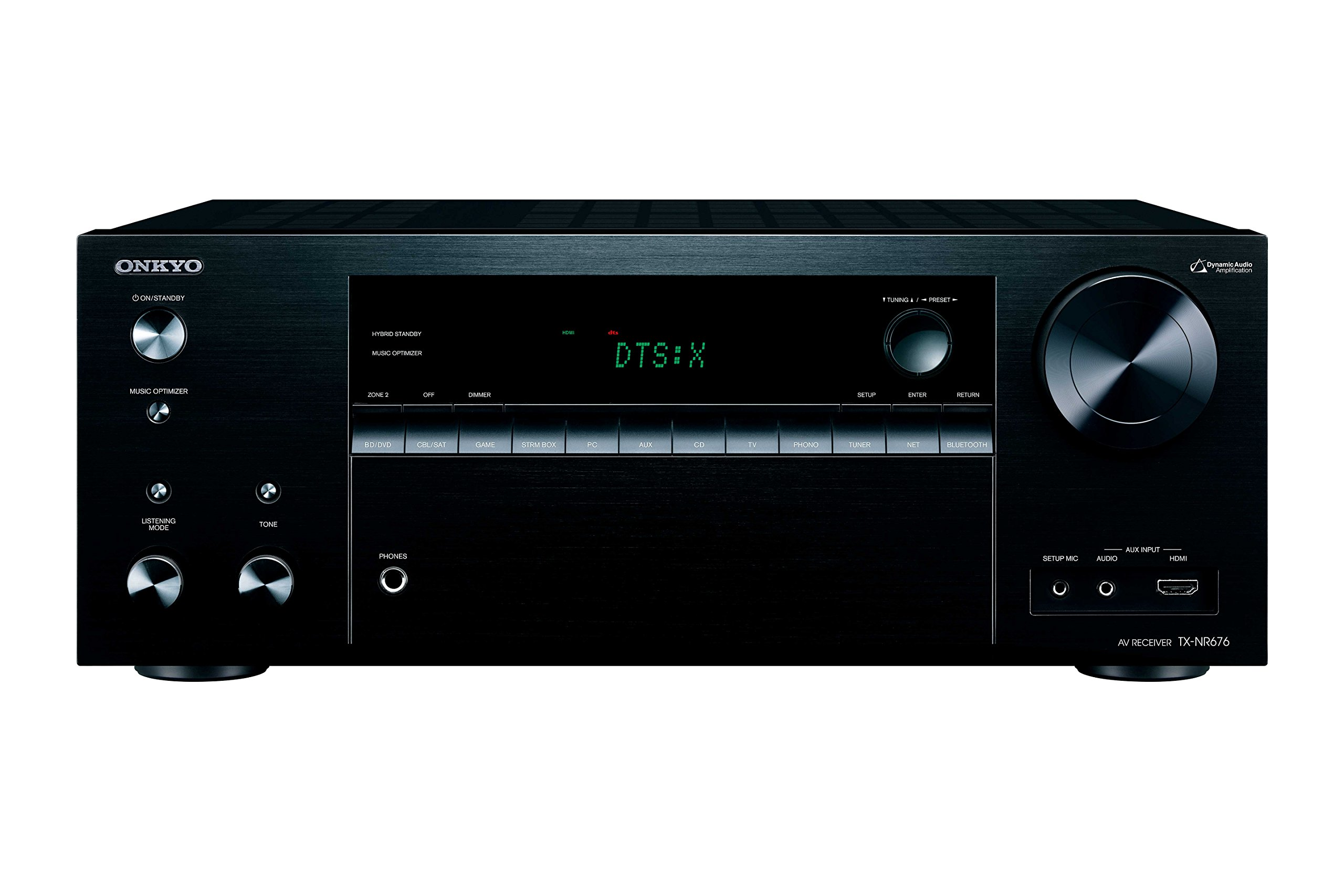 Onkyo TX-NR676 7.2 Channel Network Audio & Video Receiver by Onkyo