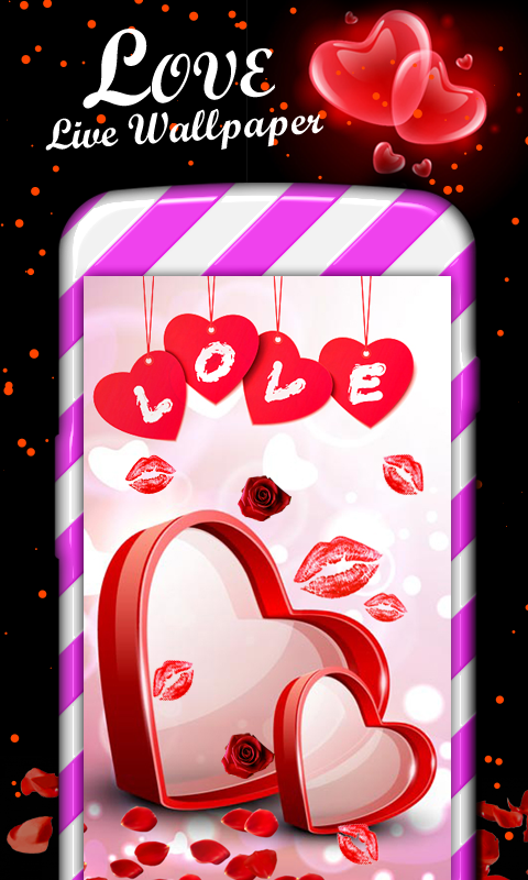 Love heart live wallpaper free download