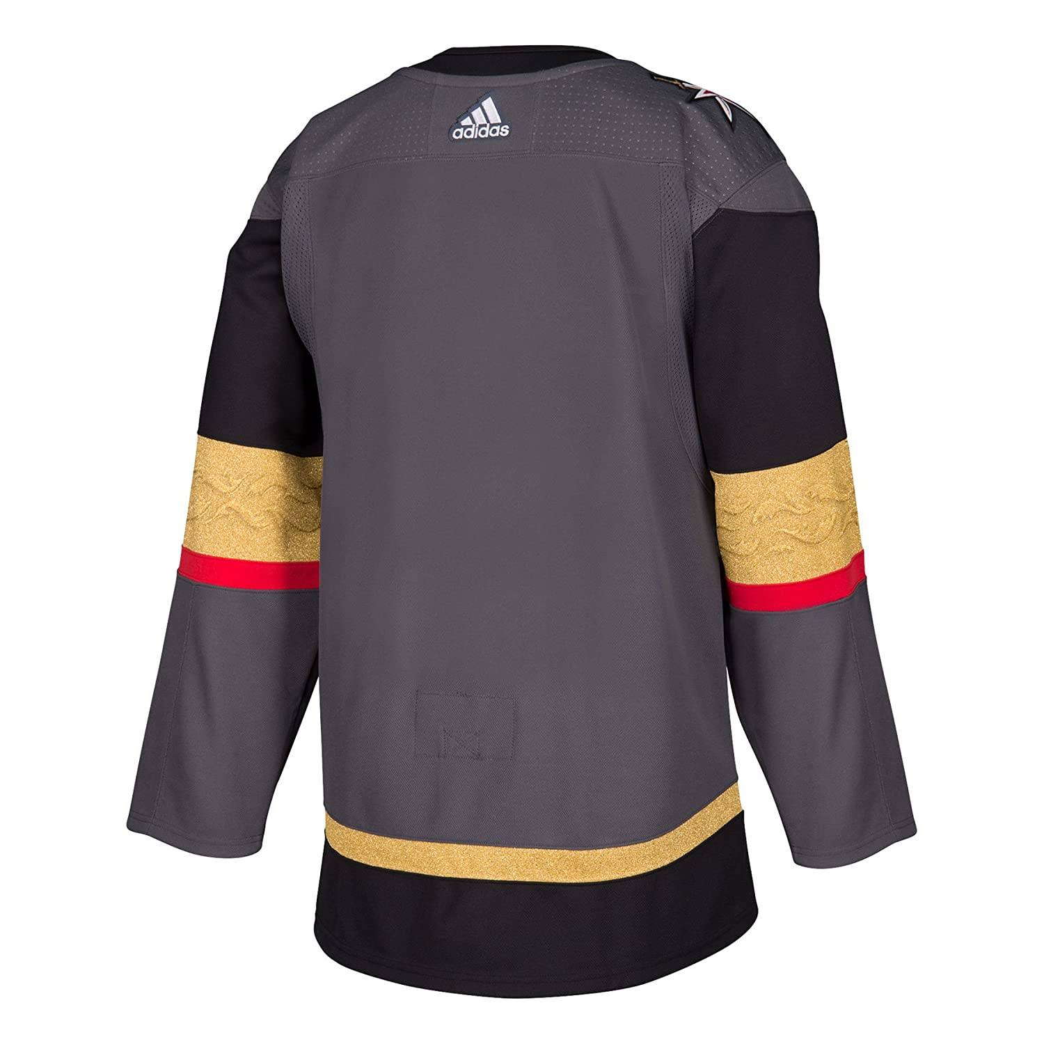 best sneakers a8f57 715ff Men's Las Vegas Golden Knights adidas Gray Home Authentic Blank Hockey  Jersey
