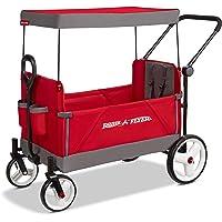 Radio Flyer 3970Z Convertible Stroller Wagon Red