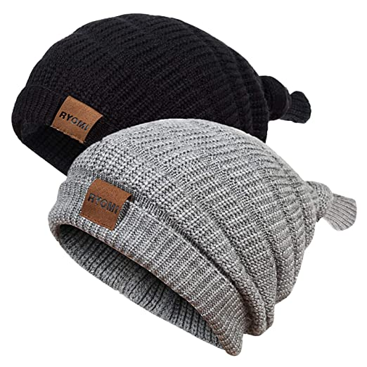 ef0bc05668a3 Amazon.com  RYOMI SEIKATU Baby Boy Beanie Hat Winter Warm Lamb ...