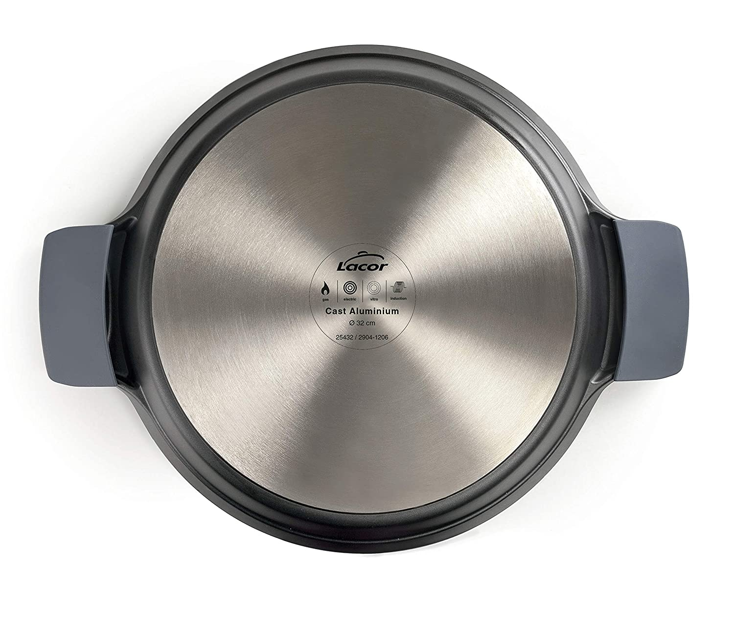 Amazon.com: Lacor 25440 Paella Pan with Silicone Handles ...