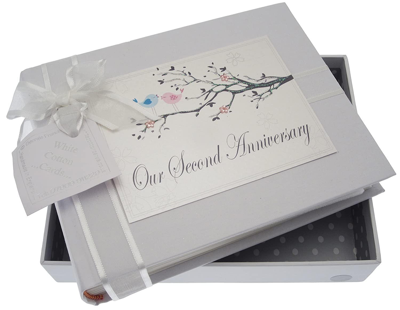 Blanco Cotton Cards Tama o álbum Peque diseño de pájaros 2nd álbum o de Fotos con Texto en inglés e9b23c