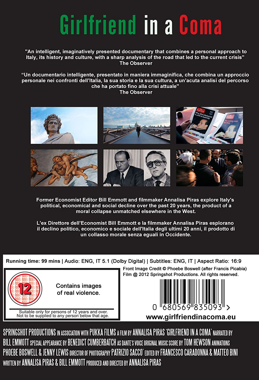 Girlfriend in a Coma - The hit documentary on DVD: Amazon.co.uk: Bill Emmott, Annalisa Piras: DVD & Blu-ray
