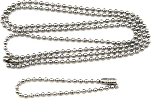 """500 DOG TAG SILENCERS 500 BALL CHAIN NECKLACES 30/"""" COMBO SET 500 DOG TAGS"""