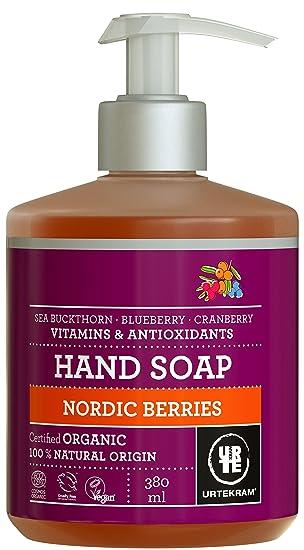 Urtekram Bayas Nórdicas liquido mano Jabón BIO, vitaminas y antioxidantes, 380 ml: Amazon.es: Salud y cuidado personal