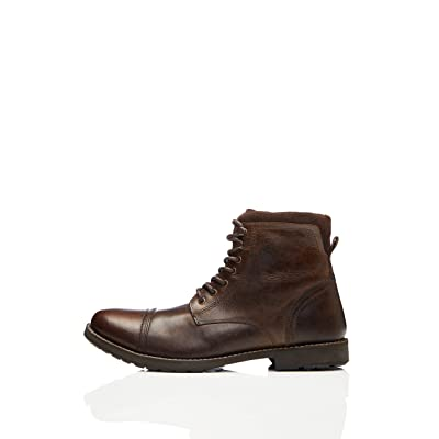 Brand - find. Men's Zip Classic Worker Boots Ankle: Shoes
