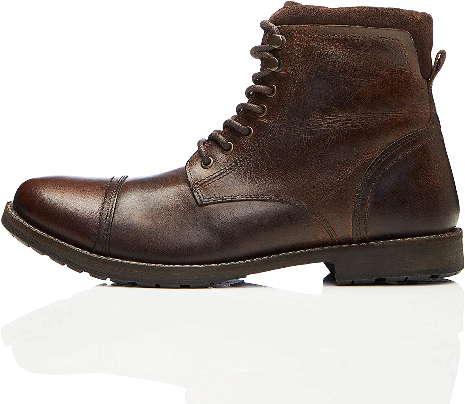 Marca Amazon - find. Hombre Botas de motorista
