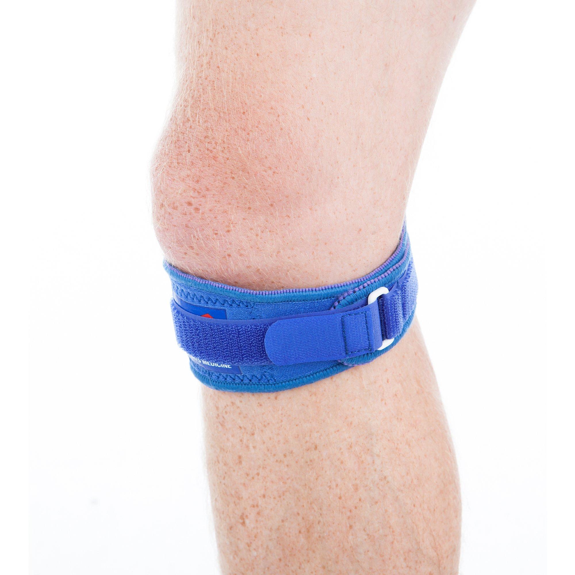 EVS Sports Unisex-Adult Neoprene Patellar Band (Blue, One Size)