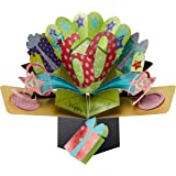 Second Nature POP025 - Tarjeta de felicitación desplegable para 60 cumpleaños, diseño en 3D con texto en inglés Happy birthday