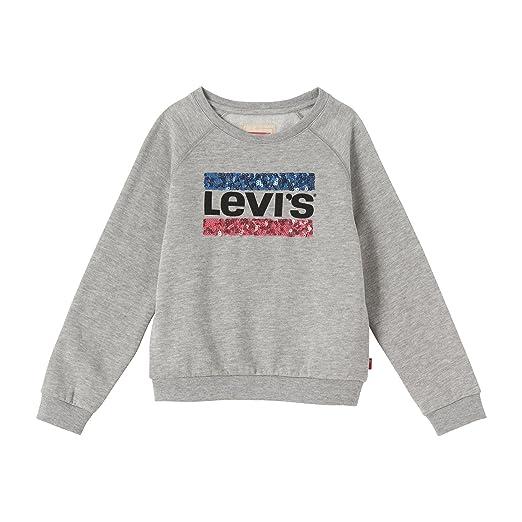 283a903ed472 Levi s Mädchen T-Shirt Sweat Battle  Amazon.de  Bekleidung