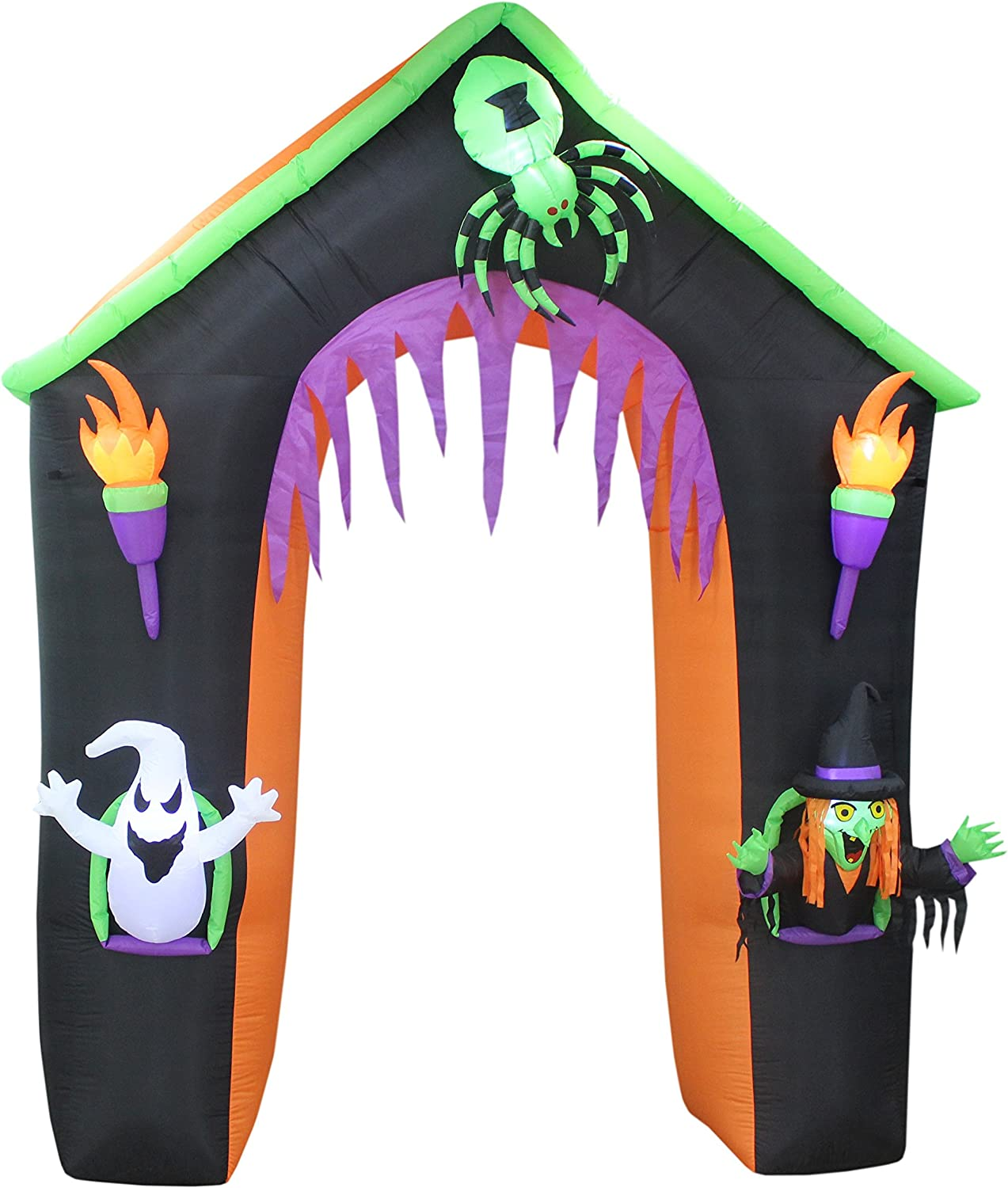 Amazon.com: BZB Goods - Castillo hinchable de Halloween con ...